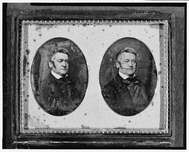 Art Photo:john Silva Meehan,1790-1863,librarian Of Congress,portrait