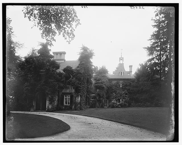 Sunnyside,washington Irving's Home,new York,ny,detroit Publishing Company,1895 To Help Digest Greasy Food Art
