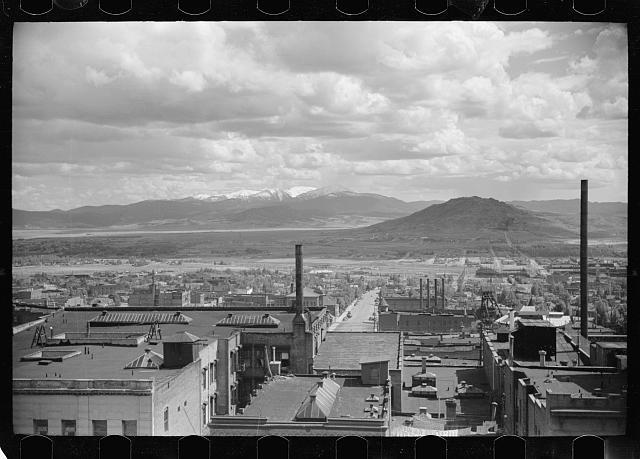 Photo: Butte,Montana,MT,Farm Security Administration,FSA,Summer 1939,Rothstein,7