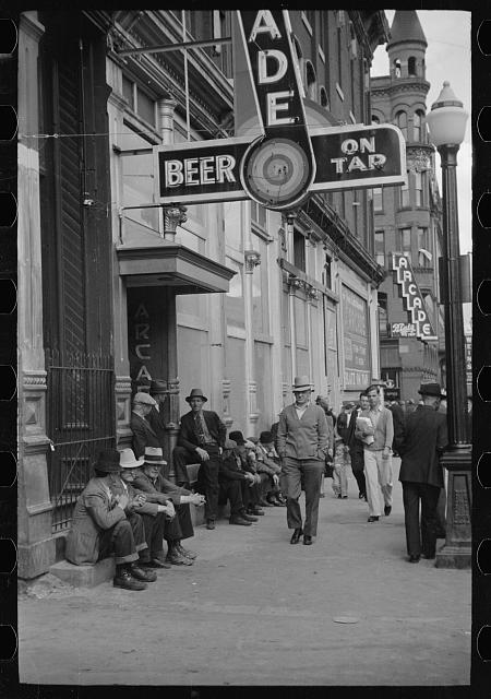Photo: Butte,Montana,MT,Summer 1939,Arthur Rothstein,Farm Security Administration,1
