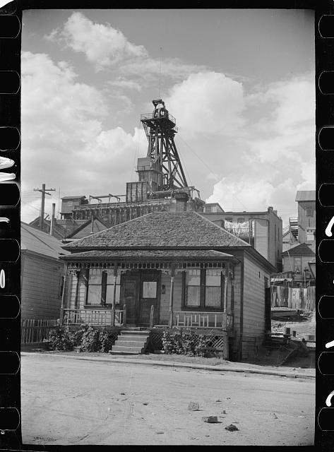 Photo: Butte,Montana,MT,Summer 1939,Arthur Rothstein,Farm Security Administration,3