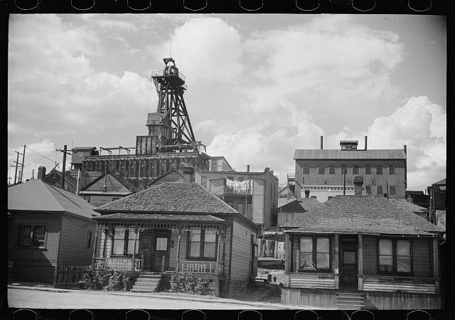 Photo: Butte,Montana,MT,Summer 1939,Arthur Rothstein,Farm Security Administration,4