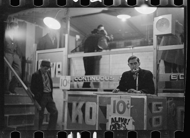 Photo: Carnival,Bozeman,Montana,MT,Farm Security Administration,1939,Rothstein,FSA