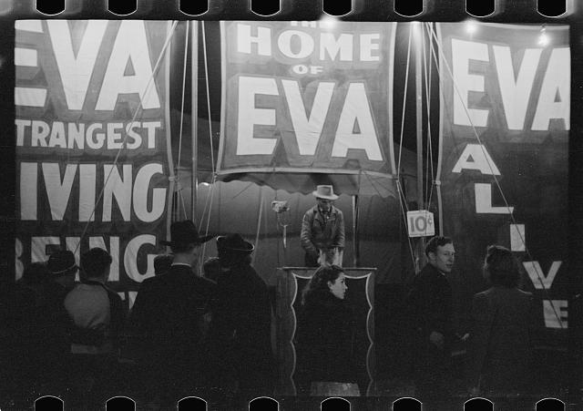 Photo: Carnival,Bozeman,Montana,MT,Farm Security Administration,1939,Rothstein,FSA,2