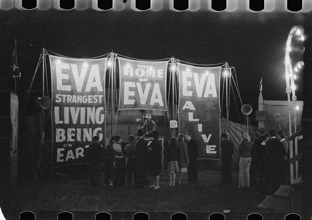 Photo: Carnival,Bozeman,Montana,MT,Farm Security Administration,1939,Rothstein,FSA,3