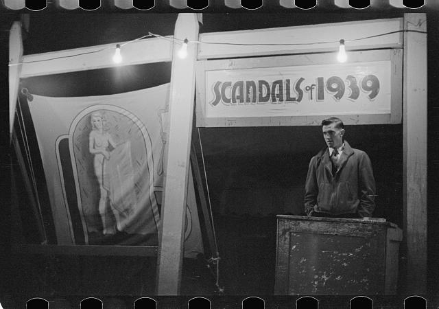Photo: Carnival,Bozeman,Montana,MT,Farm Security Administration,1939,Rothstein,FSA,7