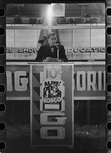 Photo: Carnival,Bozeman,Montana,MT,Farm Security Administration,1939,Rothstein,FSA,9