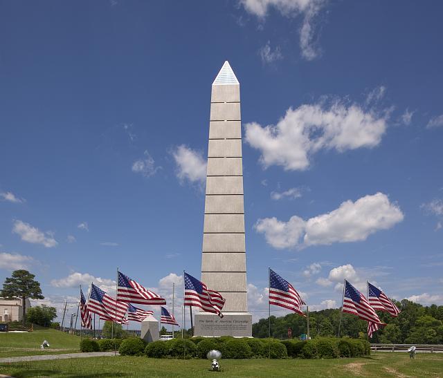 Photo: Monument to the Spirit of American Citizenship,Gadsden,Etowah County,Alabama