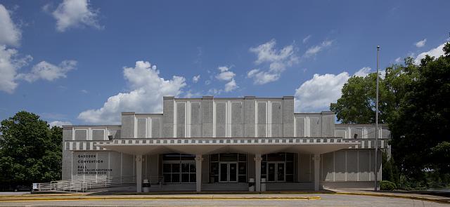 Photo: Convention Hall,Gadsden,Alabama,Etowah County,AL,Carol Highsmith,Photographer
