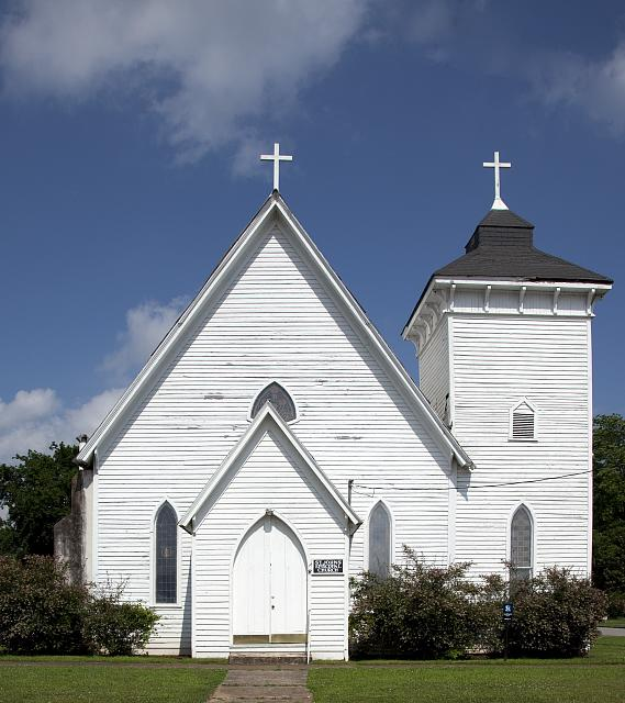 Photo: St. John's Episcopal Church,Tuscumbia,Alabama,Colbert County,Carol Highsmith