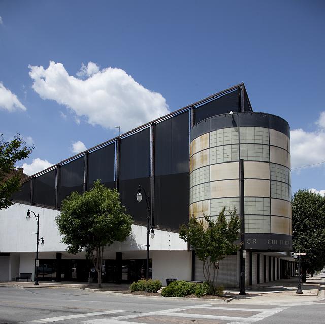 Photo: Art museum in historic downtown Gadsden,Alabama,Etowah County,Carol Highsmith