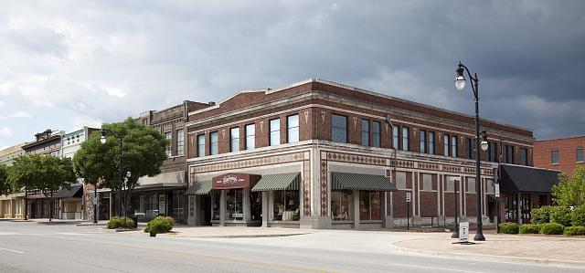 Photo: Historic Downtown,Gadsden,Etowah County,Alabama,AL,Carol Highsmith,Photographer
