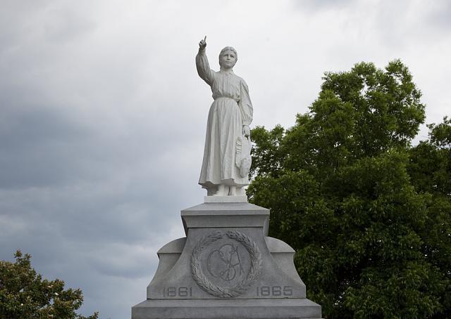 Photo: Photo of Confederate Statue,Downtown Gadsden,Etowah County,Alabama,Civil War 1