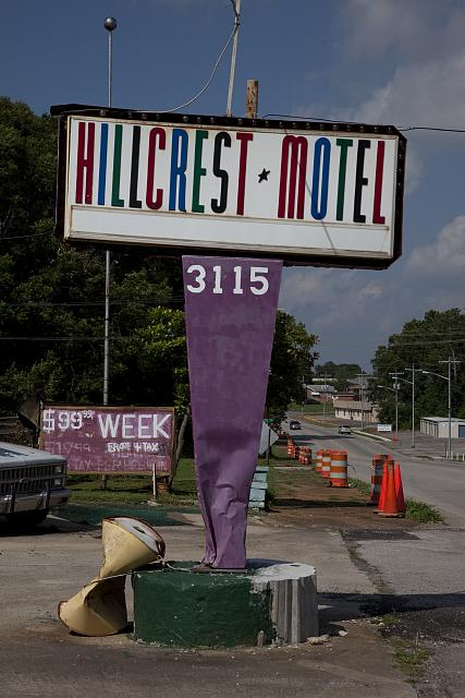 Photo: Hillcrest Motel,Sheffield,Colbert County,Alabama,South,America,Carol Highsmith,2