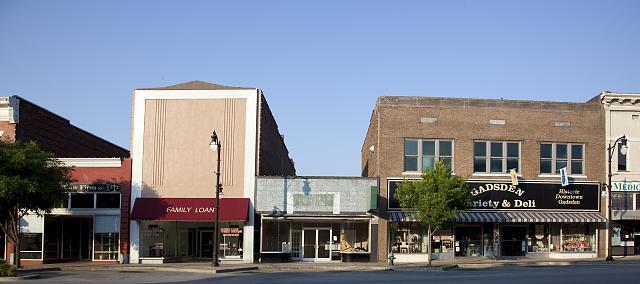 Photo: Gadsden,Alabama,Etowah County,Storefronts,South,Carol Highsmith,Photographer,2