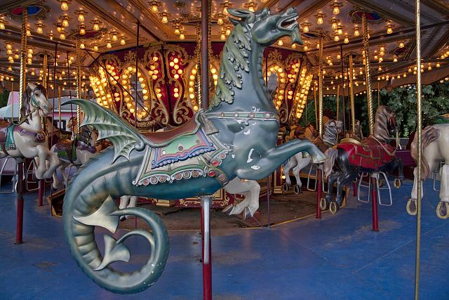 Photo: Carousel,Spring Park,Tuscumbia,Colbert County,Alabama,AL,Carol Highsmith,2010