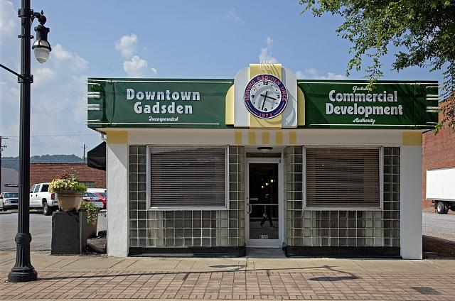 Photo: Commercial Development Authority,Gadsden,Etowah County,Alabama,Carol Highsmith