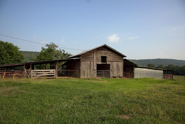 Photo: Barn,Rural Scene,Route 11,Gadsden,Etowah County,Alabama,Farmland,Highsmith