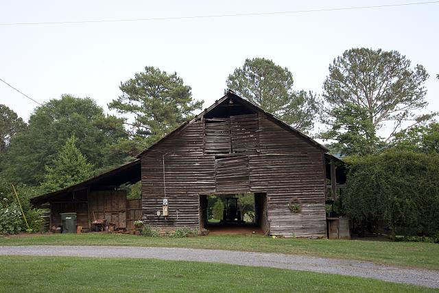 Photo: Barn,Rural Scene,Route 11,Gadsden,Etowah County,Alabama,Farmland,Highsmith,3