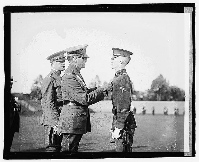 Photo: H.B. Caded competition drill 1922,Military,United States Army