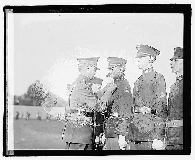 Photo: Competition drill,1922,Military,United States Army