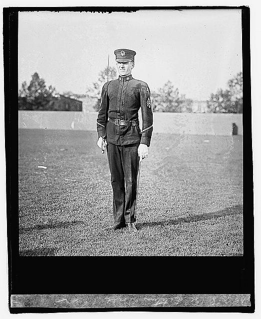 Photo: Competition drill,1922,Military,United States Army,1