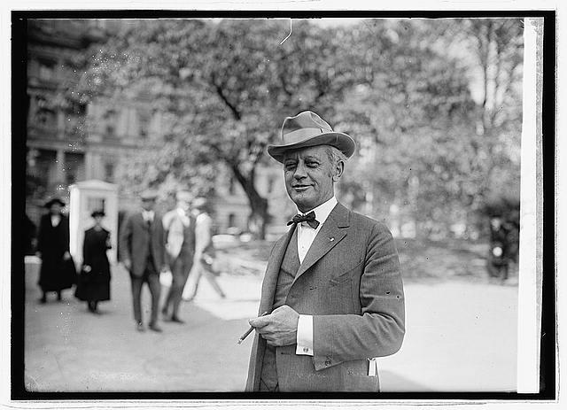 Photo: Charles Brand,United States Representative from Ohio,American Politician,1923,1