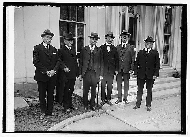 Photo: Gridiron Club group,Washington,DC,District of Columbia,United States,1923