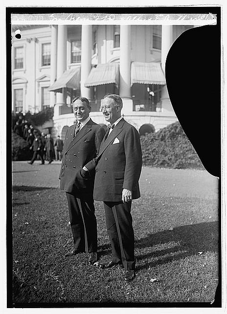 Photo: George Sreges of N.J. & Alfred E. Smith,N.Y.,10/20/23,American Politicians