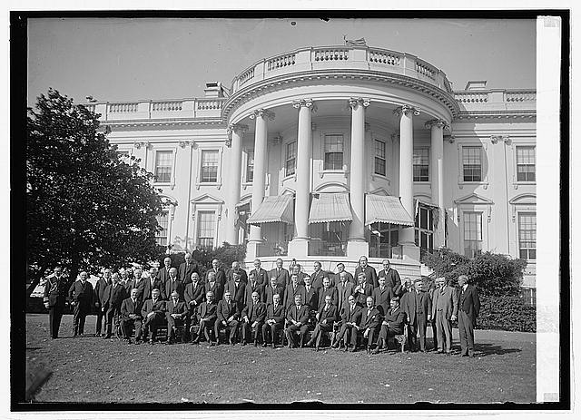 Photo: Governors at White House,Washington,DC,District of Columbia,United States,1923