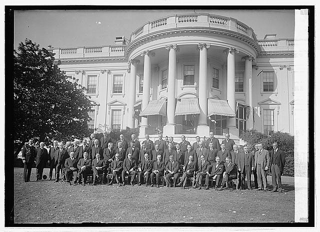 Photo: Governors at White House,Washington,DC,District of Columbia,United States,1923,1